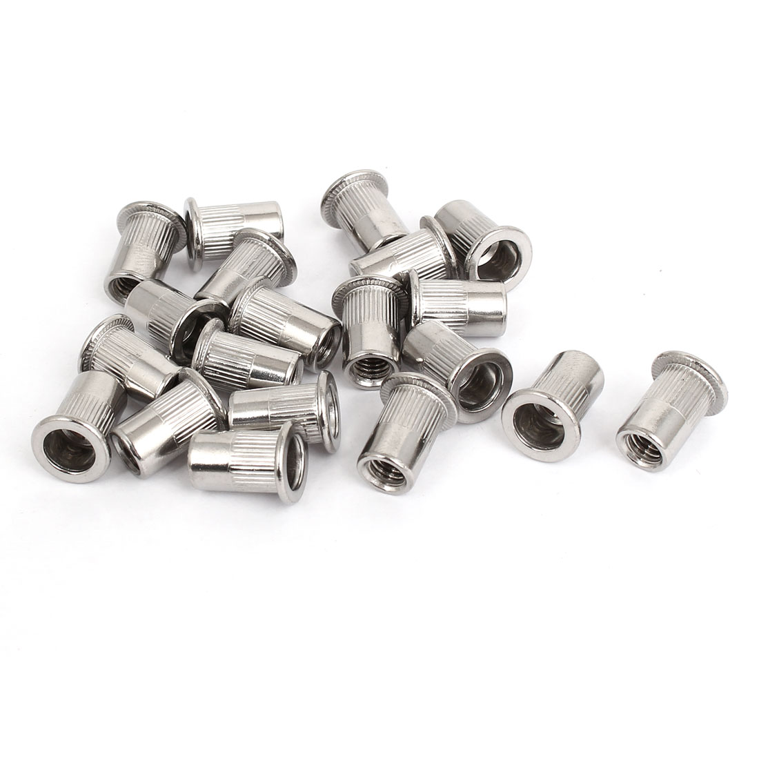 M6 Thread 304 Stainless Steel Rivet Nut Insert Nutsert 20pcs