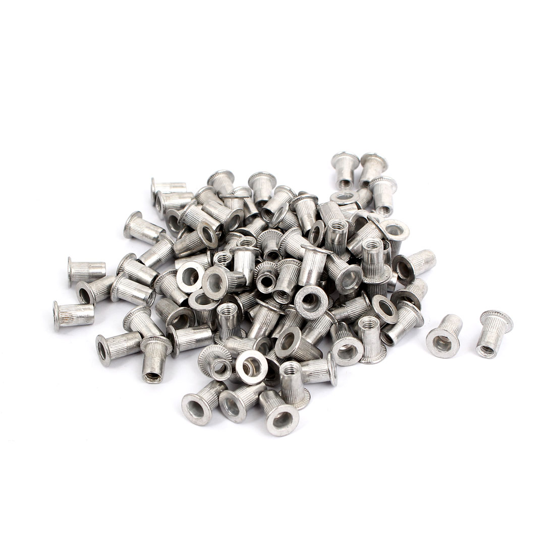 M4 Thread Aluminum Rivet Nut Insert Nutsert 100pcs