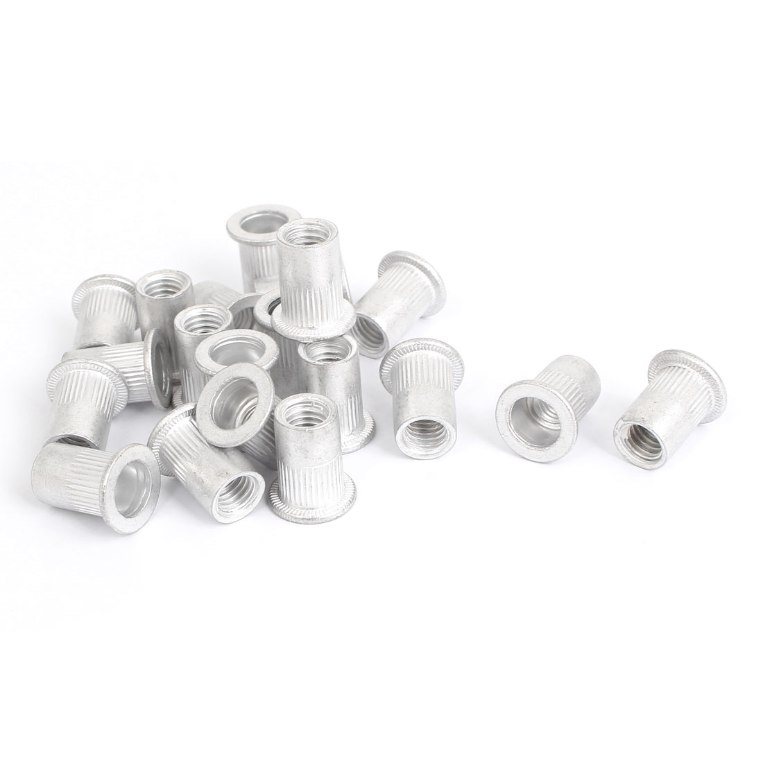 M8 Thread Aluminum Rivet Nut Insert Nutsert 20pcs