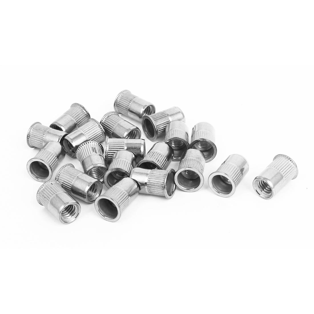M6 Thread 304 Stainless Steel Rivet Nut Insert Nutsert 20pcs