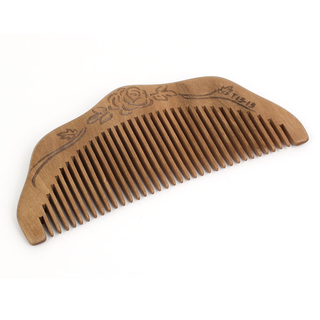 "Unisex Wooden 4.5"" Length Healthy Head Care Hand Craft Hair Comb Wood Color"