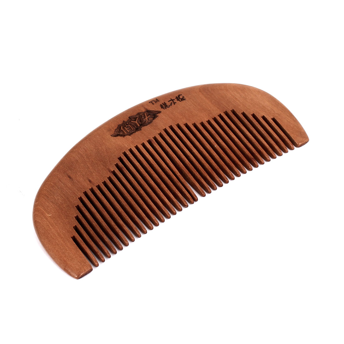 "Unisex Wooden 4.7"" Length Healthy Head Care Hand Craft Hair Comb"