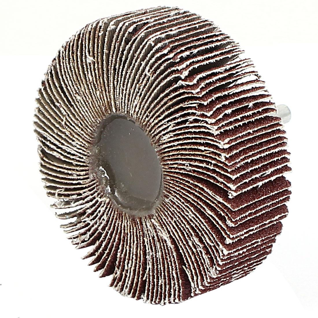 80mm Dia Grinding Sanding Sandpaper Buffing Flap Wheel Disc 80 Grit for Rotary