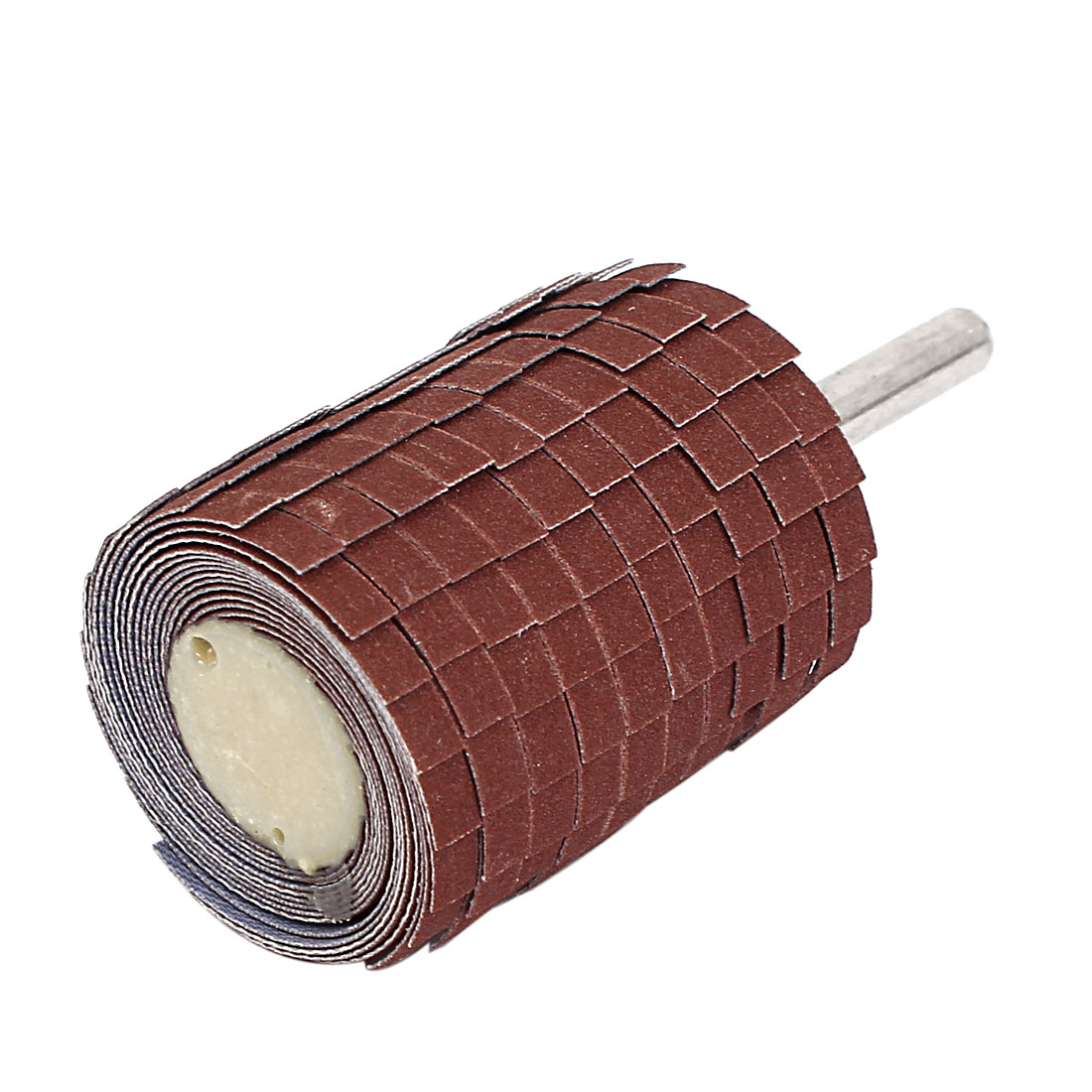 Emery Cloth Sandpaper Wire Abrasive Flap Wheel 320 Grit w Mandrel