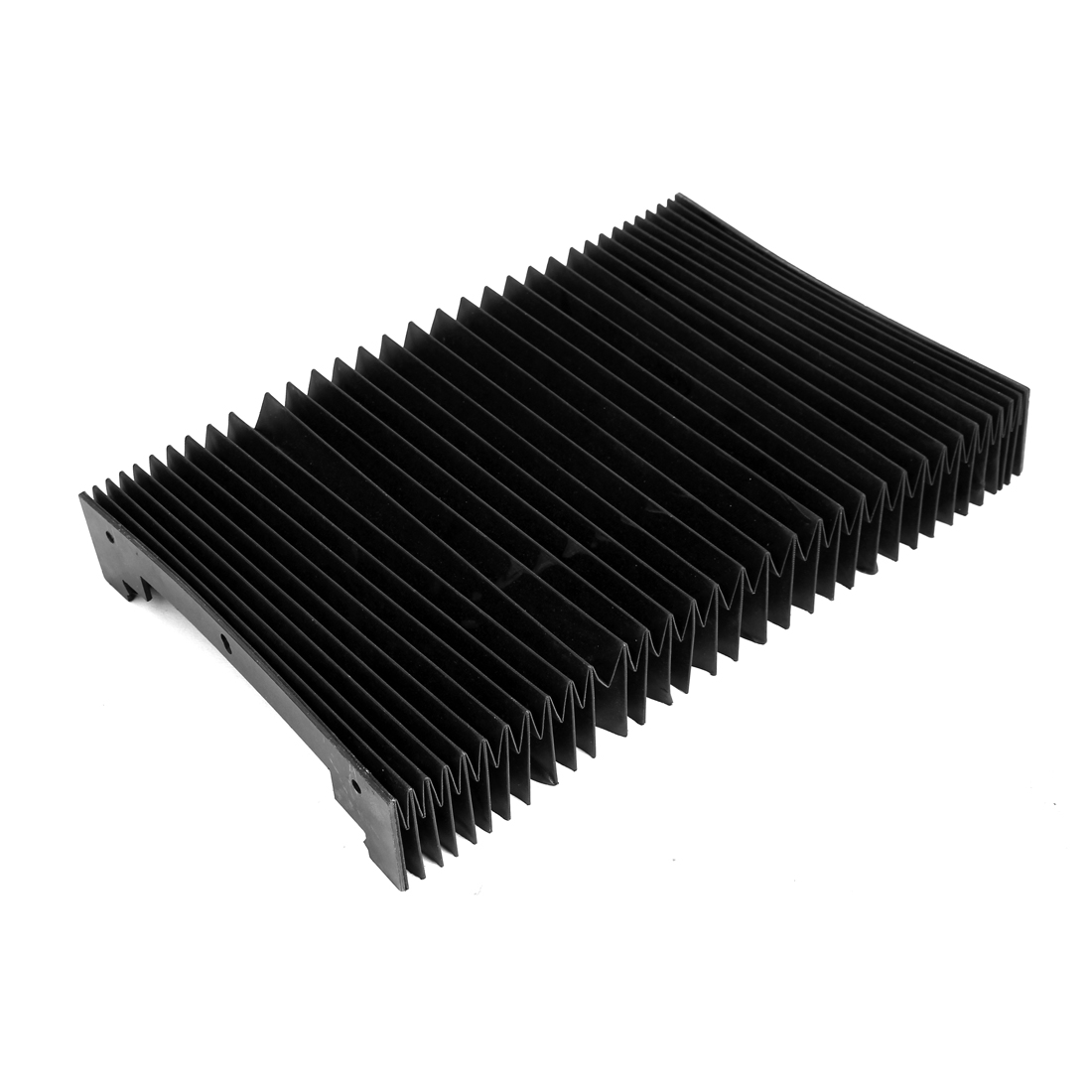 1000mmx225mmx50mm Machine Fitting Foldable Dust Protective Cover Black