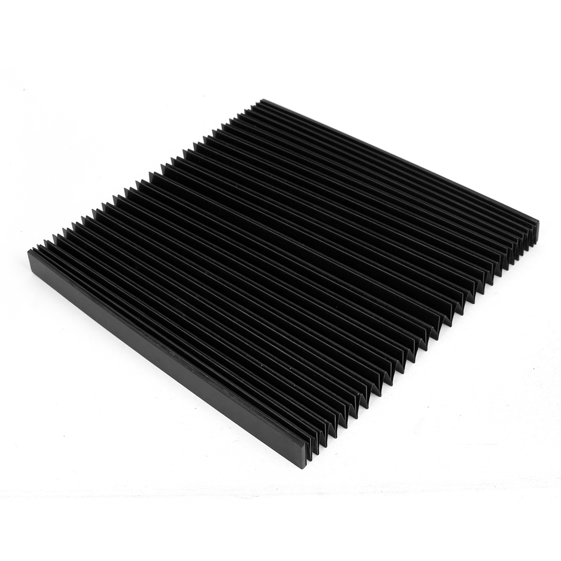 700mmx285mmx20mm Machine Fitting Foldable Dust Protective Cover Black