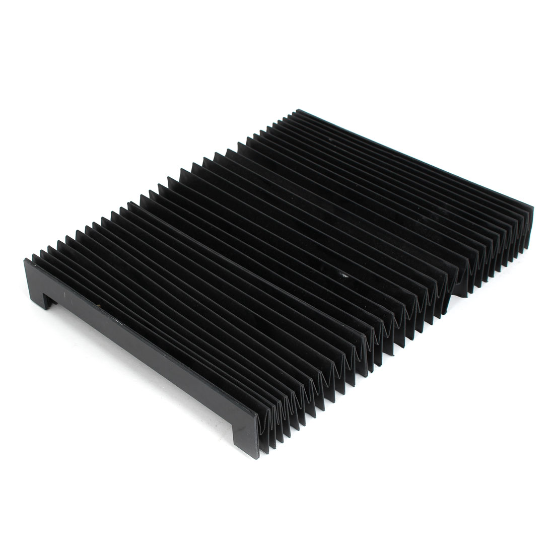 1000mmx240mmx40mm Machine Fitting Foldable Dust Protective Cover Black