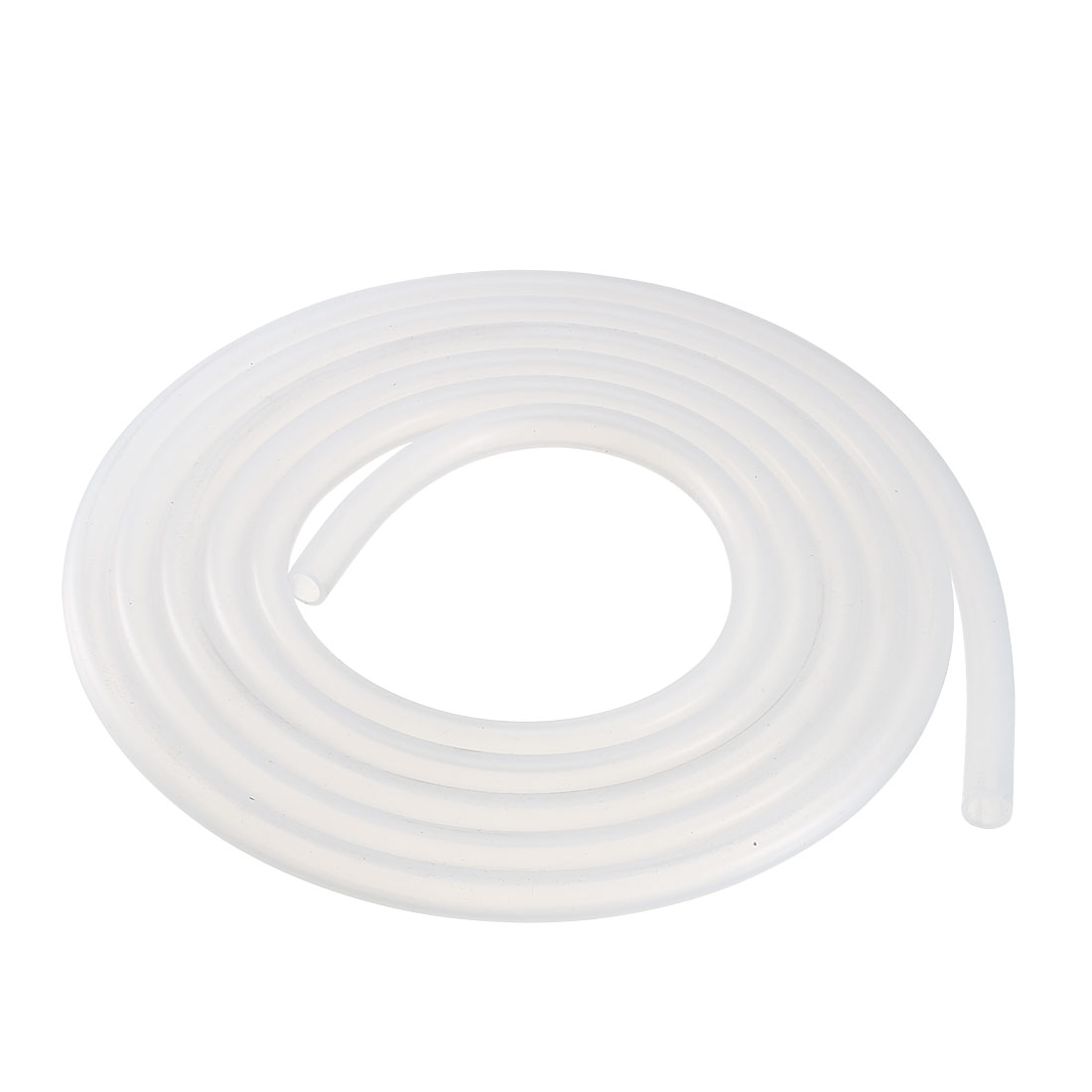 6mm x 8mm Silicone Vacuum Translucent Tube Beer Water Air Pump Hose Pipe 2 Meters Long