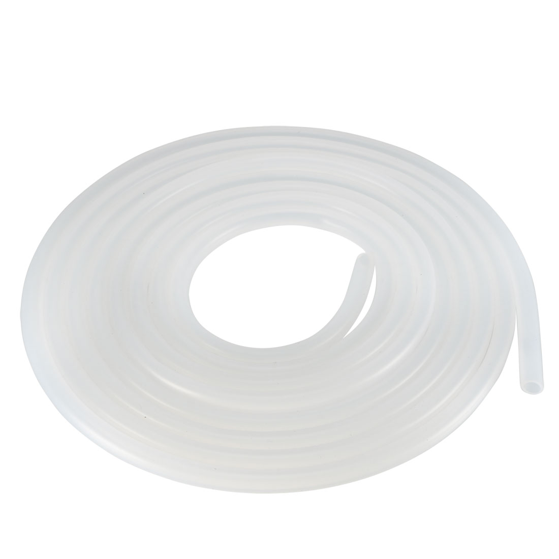 5mm x 7mm Silicone Vacuum Translucent Tube Beer Water Air Pump Hose Pipe 3 Meter Long