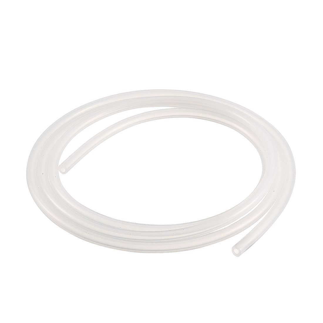 2mm x 4mm Silicone Vacuum Translucent Tube Beer Water Air Pump Hose Pipe 1 Meter Long