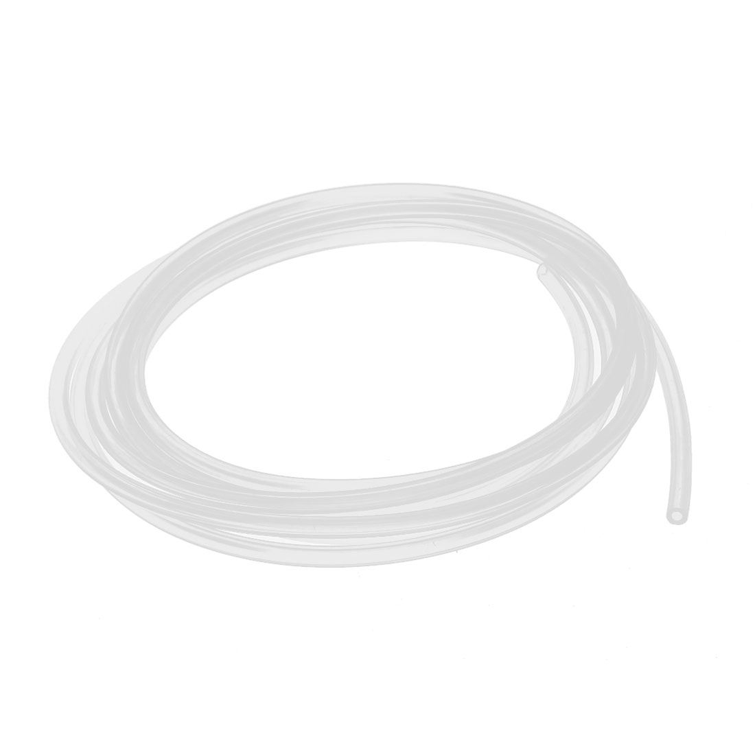 2mm x 4mm Silicone Vacuum Translucent Tube Beer Water Air Pump Hose Pipe 3 Meters Long