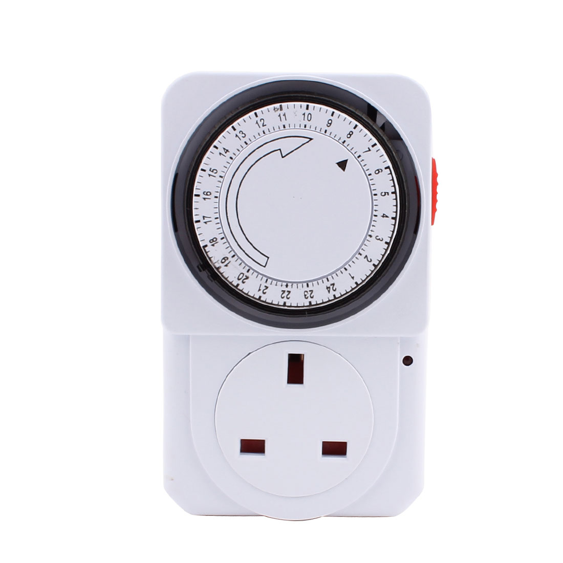AC 240V UK Plug 24 Hour 24hr Mains Time Switch Timer UK Socket Adapter