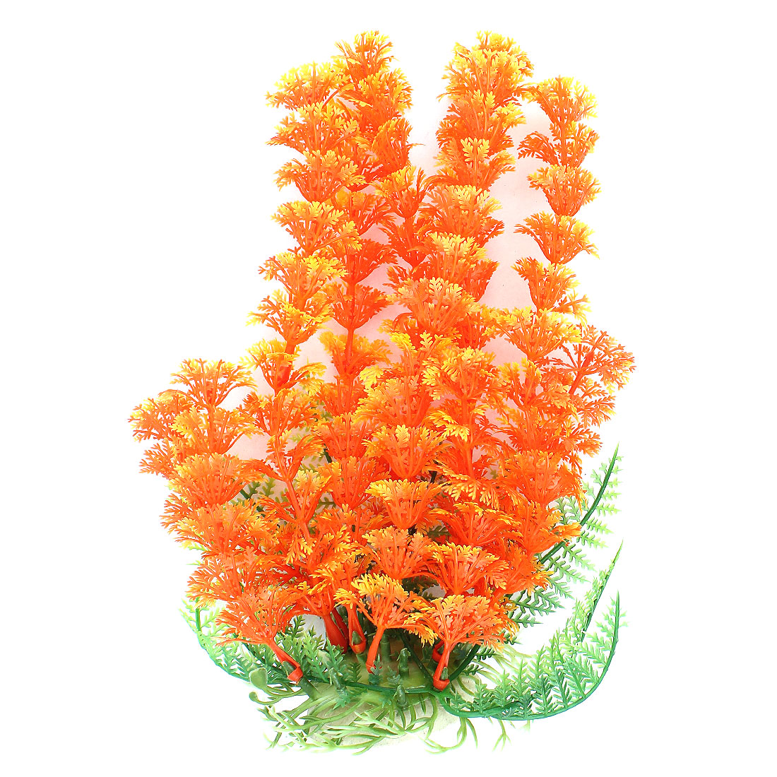 Landscape Aquascaping Aquarium Plant Underwater Grass Decor Orange