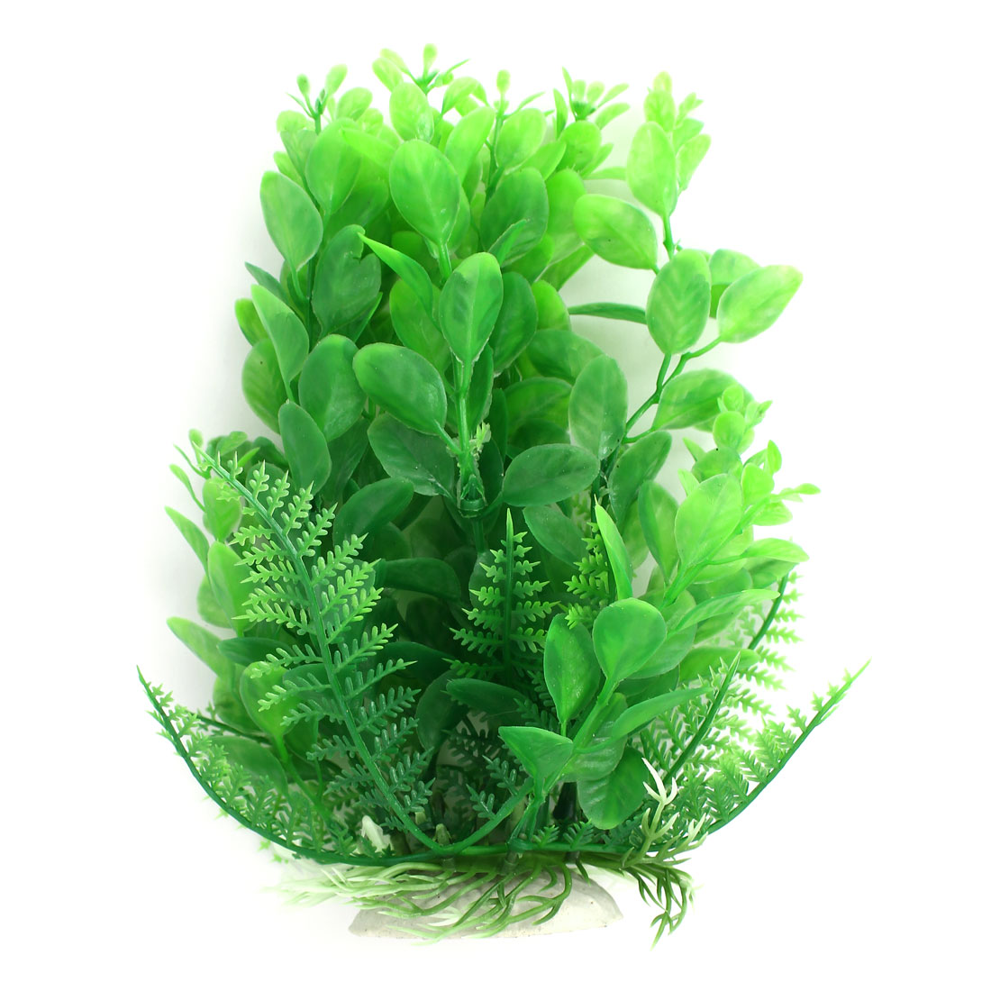 Aquarium Fish Tank Plastic Simulated Artificial Plant Grass Decor Ornament Green