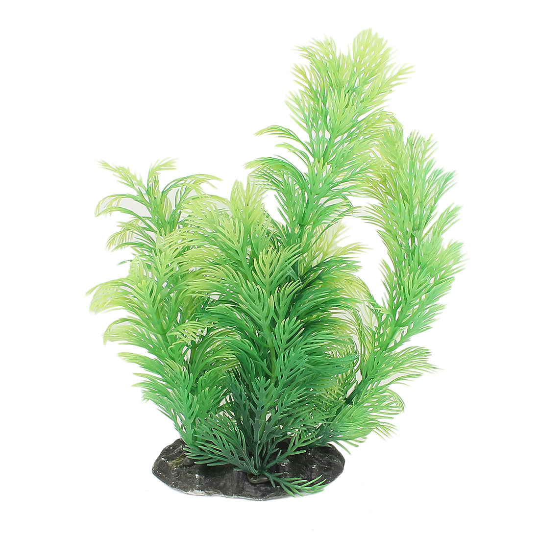Plastic Underwater Aquatic Plant Fish Tank Aquarium Decor 20cm High Green