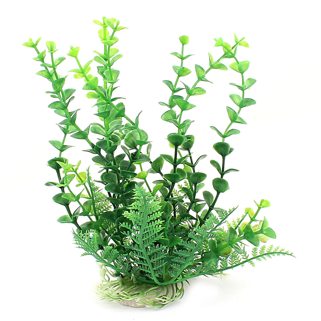 Plastic Grass Adorn Manmade Aquascape Aquarium Sea Plant 20cm High