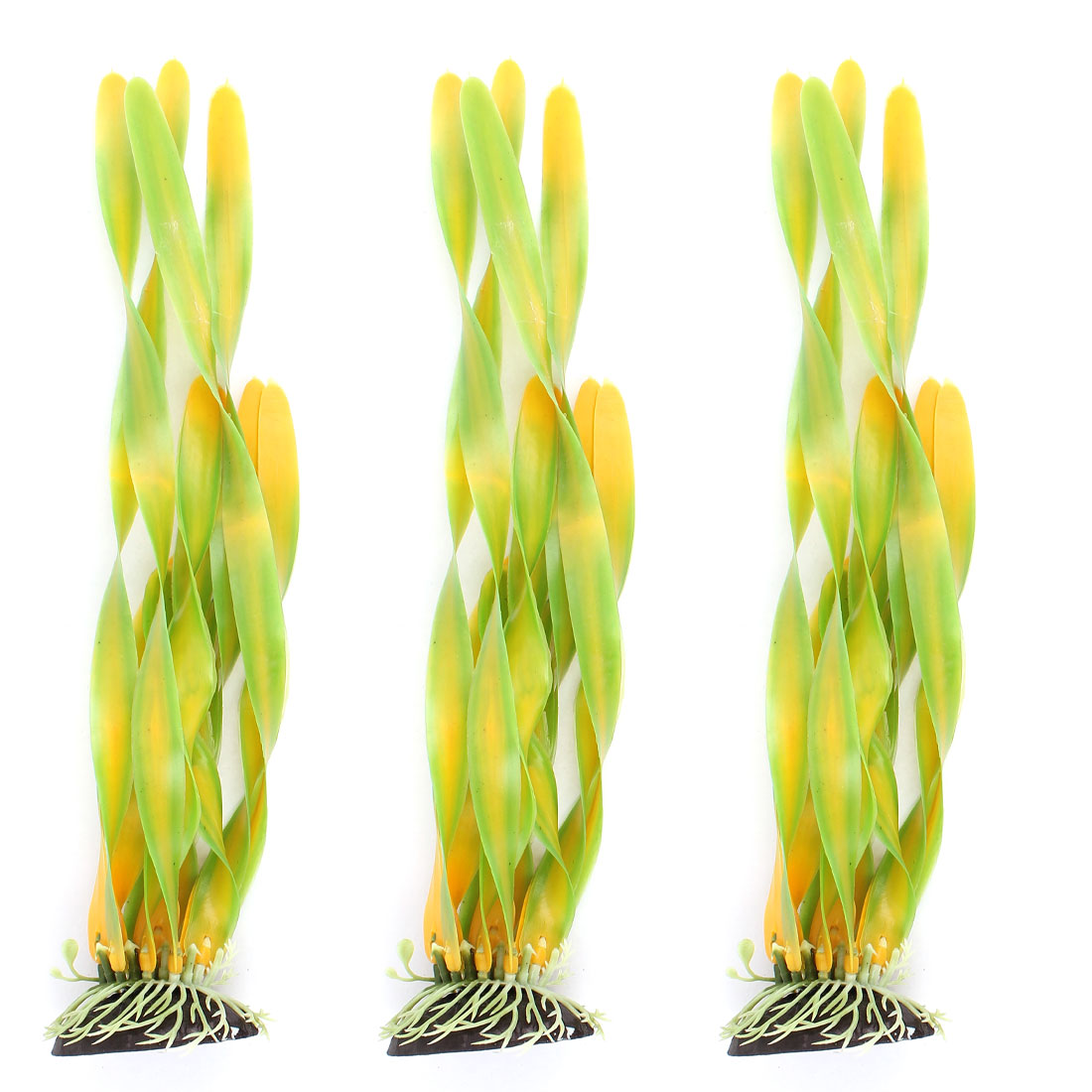 Plastic Landscape Aquascaping Aquarium Plant Underwater Grass Decoration 3pcs