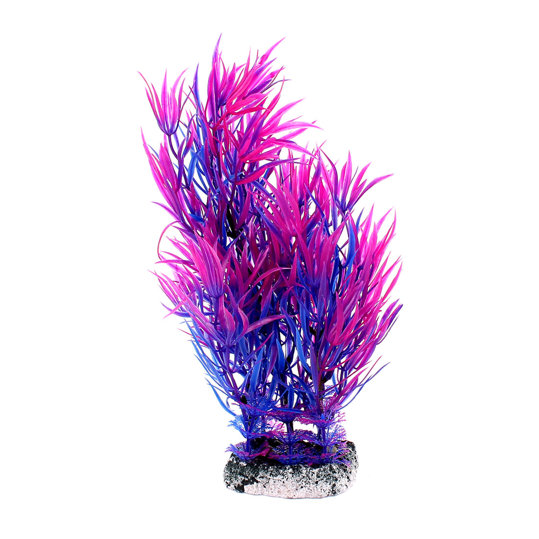 Plastic Aquatic Plant Simulation Leaf Fish Tank Aquarium Decoration Purple