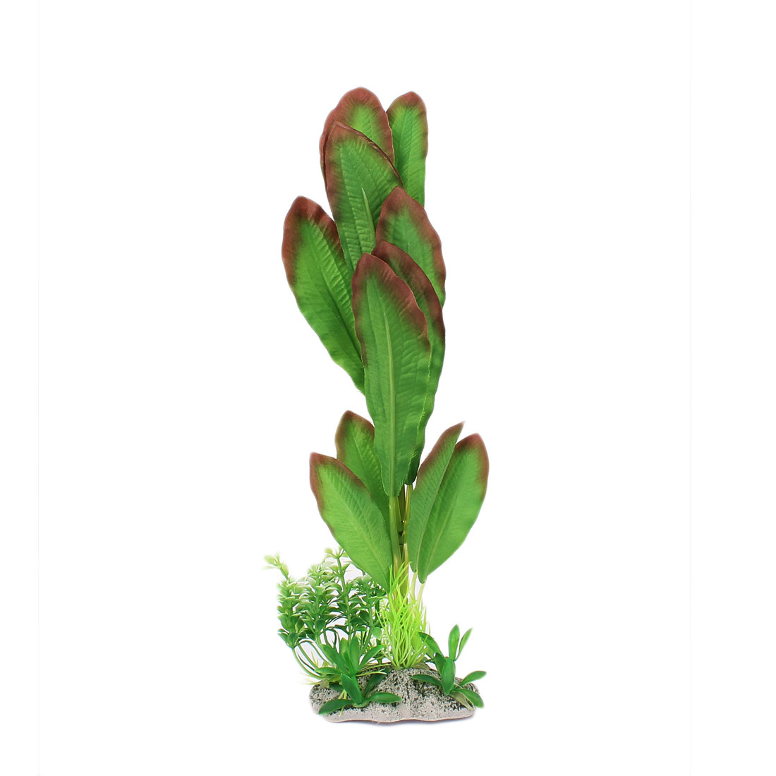 Plastic Underwater Aquatic Plant Fish Tank Aquarium Decor 30cm High Green