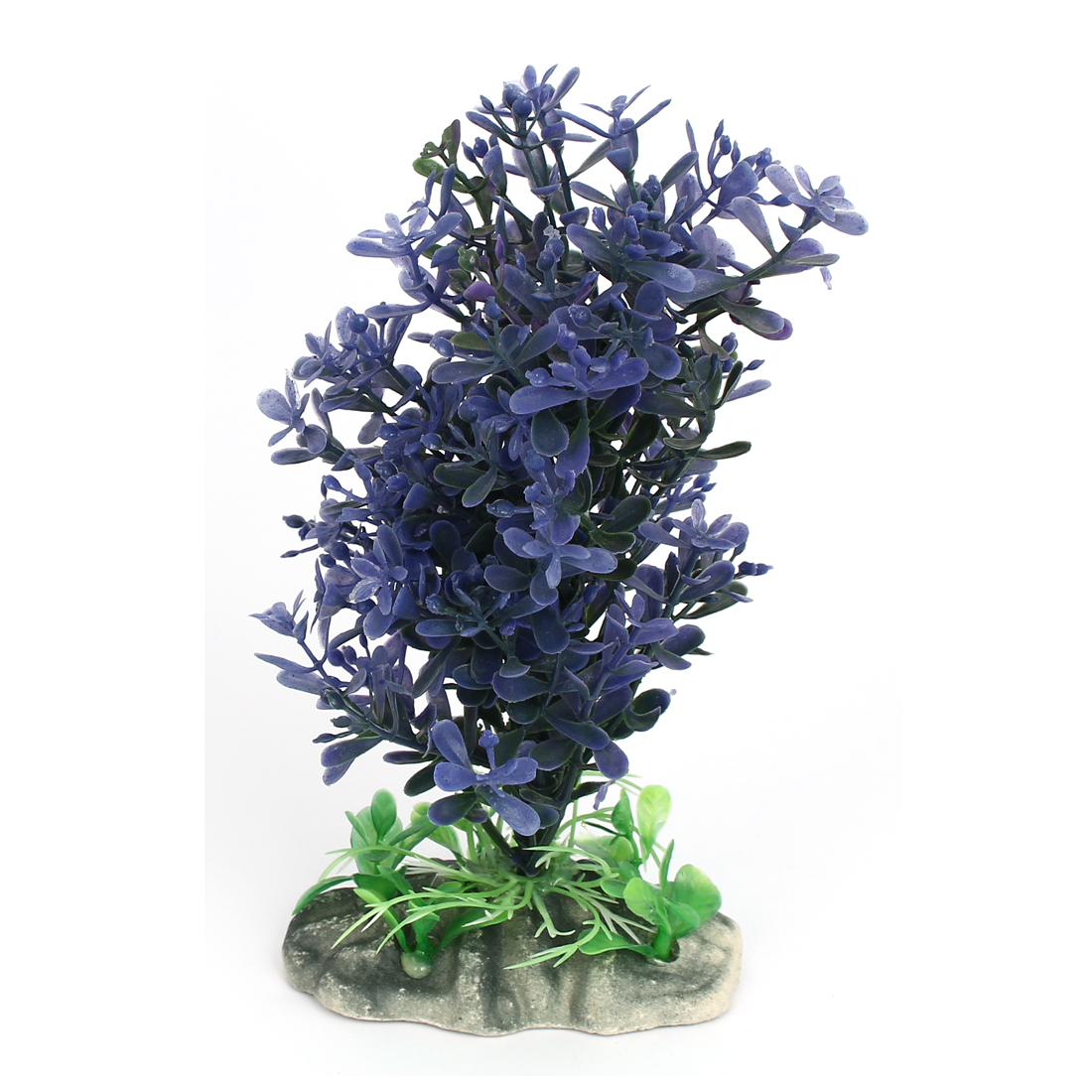 Aquarium Fish Tank Simulated Artificial Water Plant Grass Decor Ornament Purple