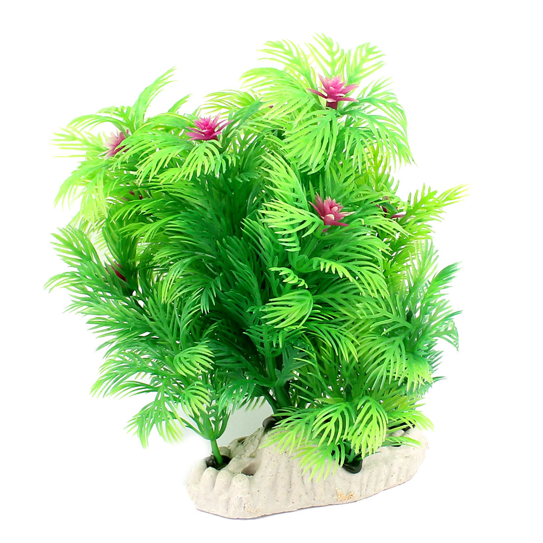 Plastic Grass Aquarium Artificial Underwater Landscape Plant 14cm High