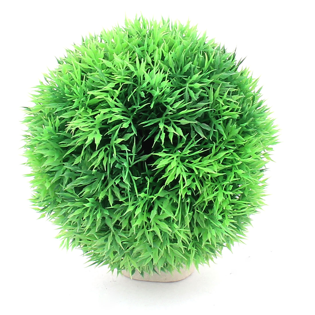 Plastic Leaf Grass Ball Design Aquatic Plant Fish Tank Aquarium Decoration