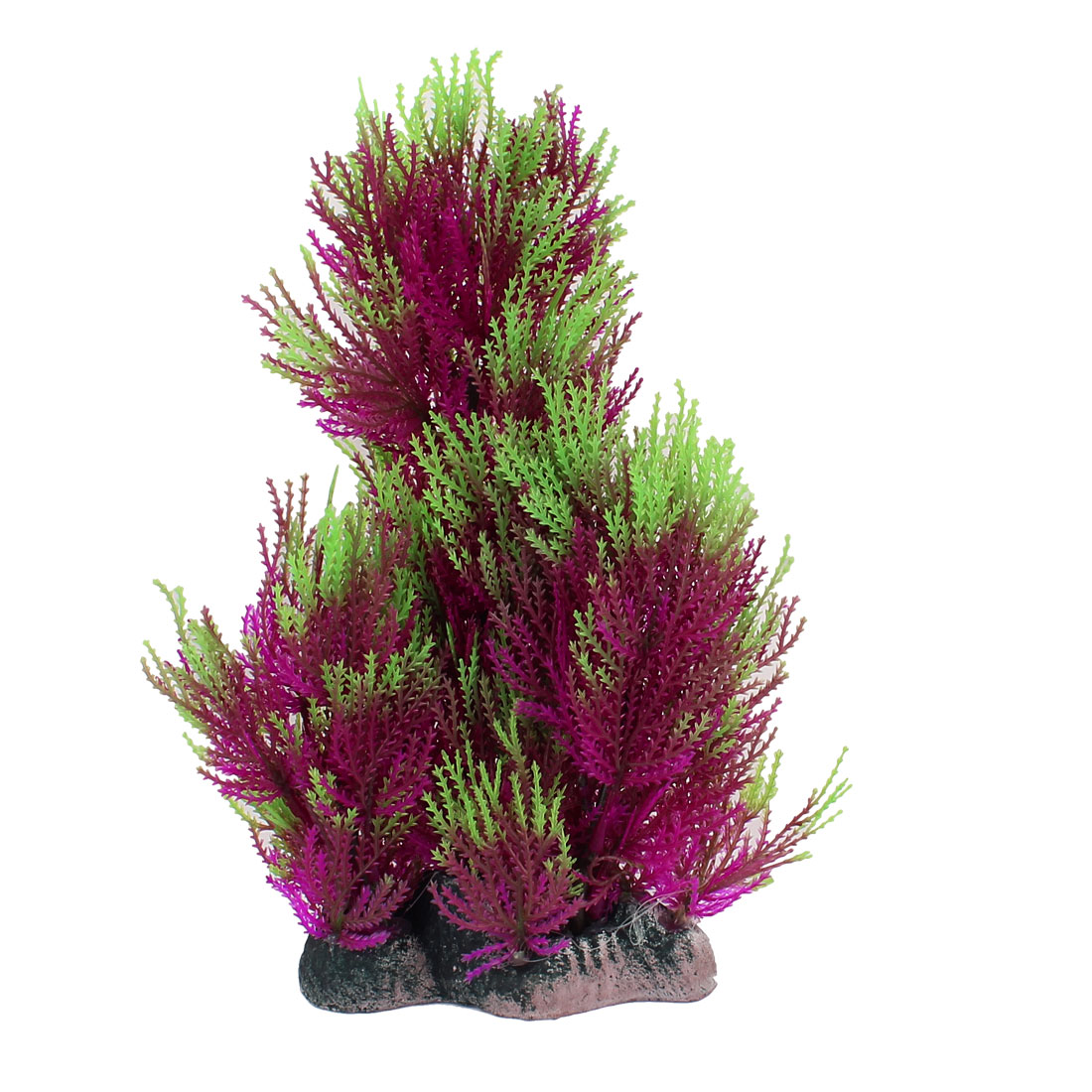 Plastic Simulation Aquascaping Underwater Grass Decor Aquarium Plant Green Purple