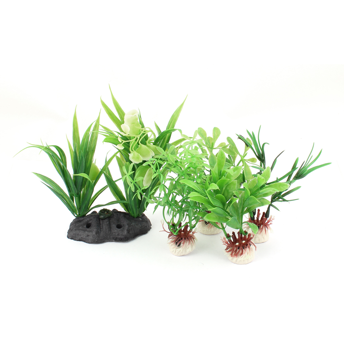 Plastic Landscape Aquascaping Aquarium Plant Underwater Grass Decor 5PCS