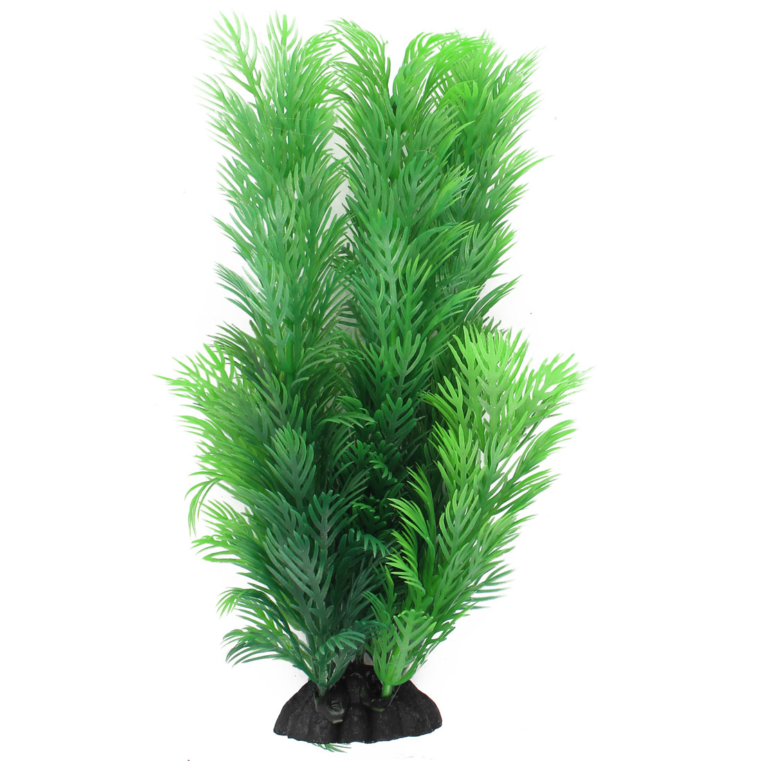 Plastic Glyptostrobus Pensilis Accent Aquarium Plant Fish Tank Decor Green