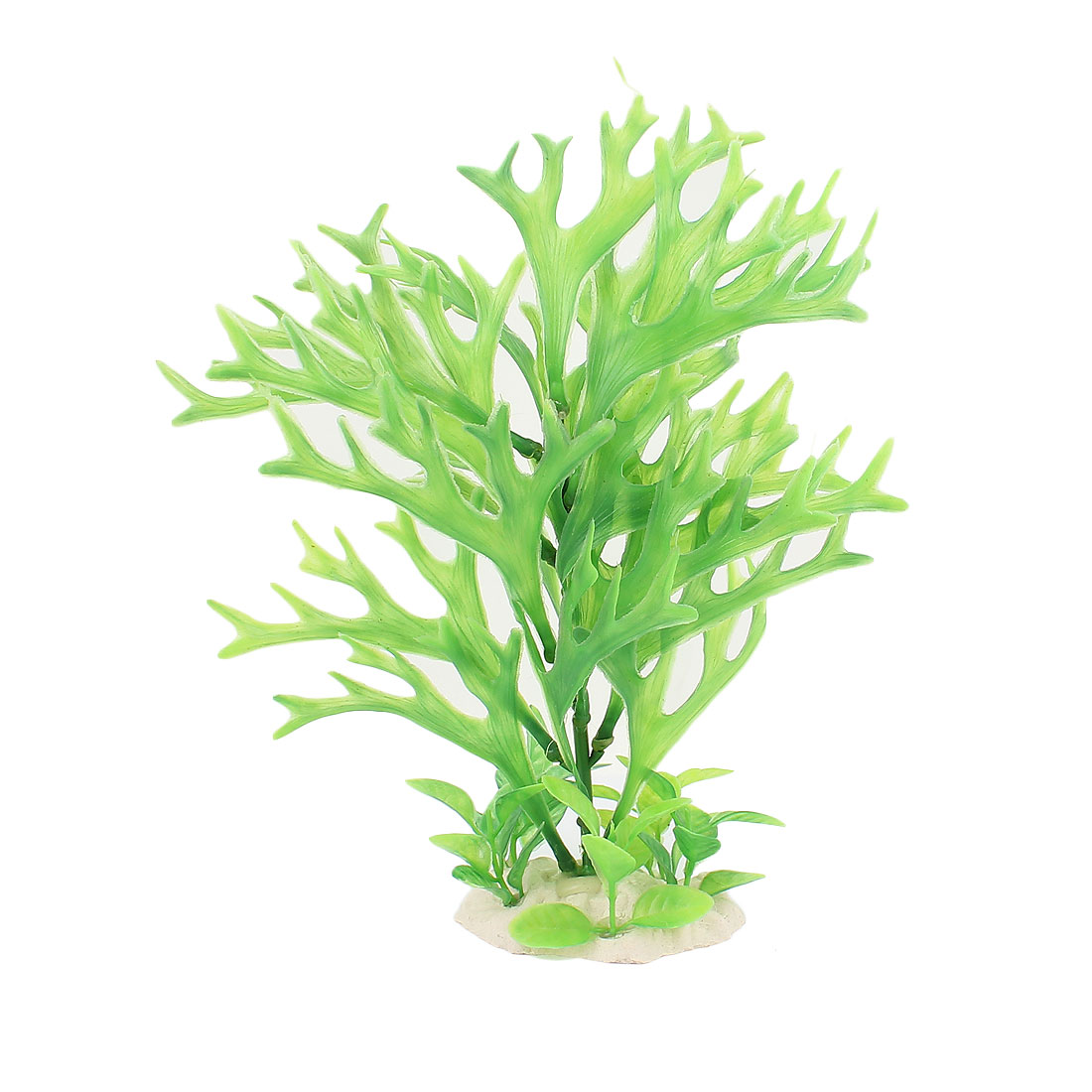 Plastic Landscape Aquascaping Underwater Grass Aquarium Plant Decor Green
