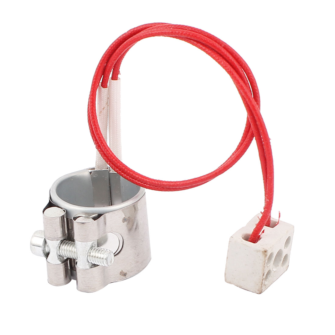 AC 220V 80W Injection Machine Ceramic Heating Element Metal Band Heater 30mm x 30mm