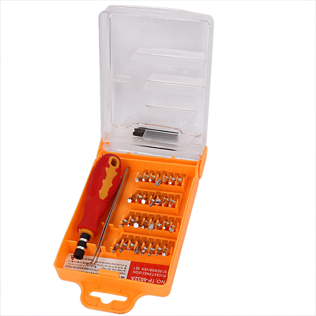 Portable Nonslip Handle Electronic Screwdriver Set Tool TP-6032A 32 in 1