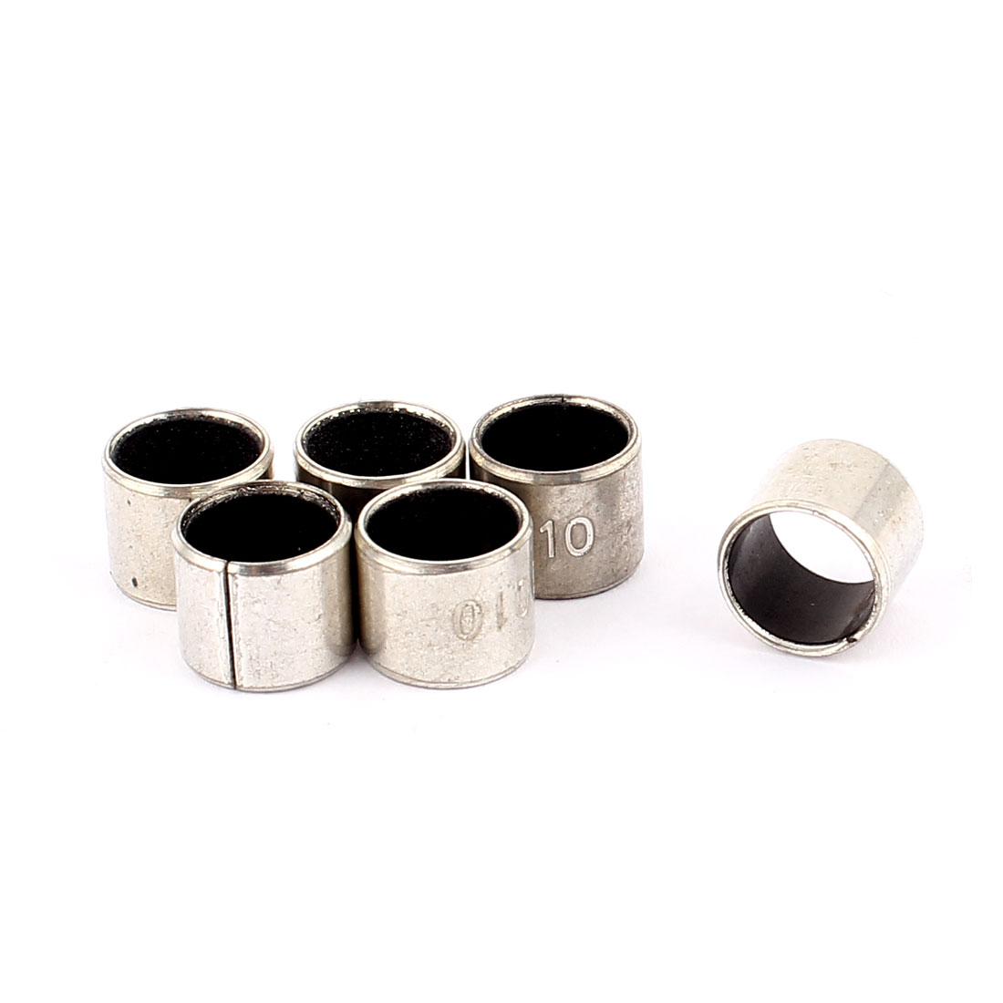 6 Pcs Self-lubricating Composite Bearing Bushing Sleeve 10mm x 12mm x 10mm