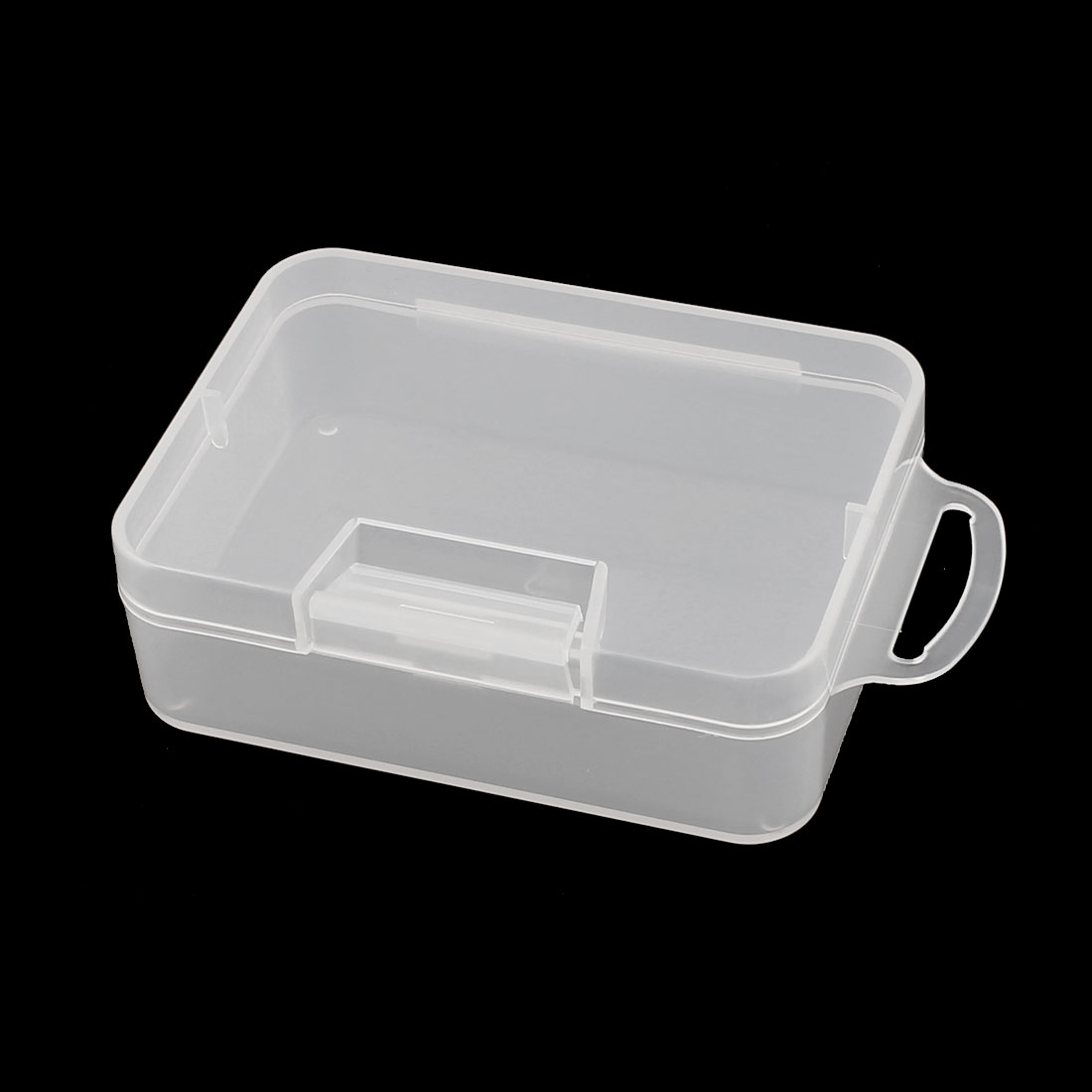 Transparent Earring Jewelry Collection Storage Container Box Case