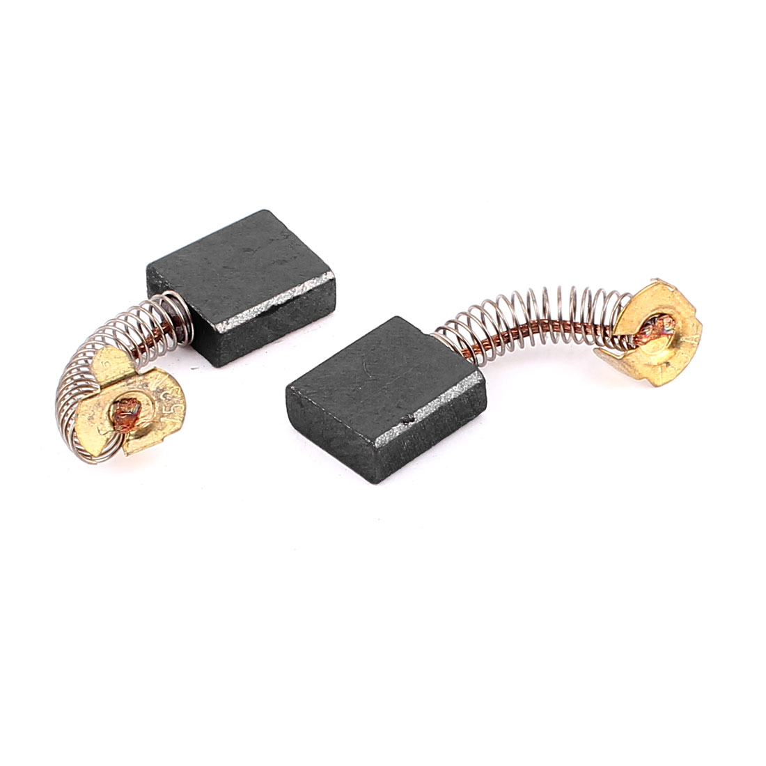 Pair Replacement Motor Carbon Brushes 20mm x 17mm x 7mm for Electric Motors