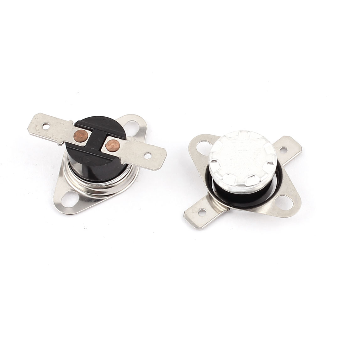2 Pcs KSD301 Temperature Control Switch Thermostat 250V 10A 50 Celsius N.O.