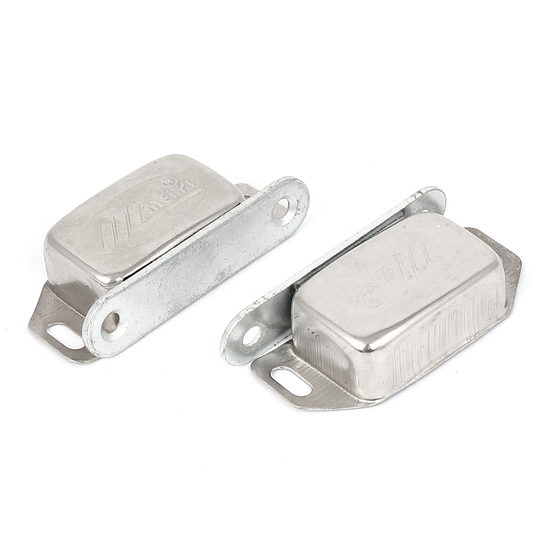 2pcs Stainless Steel Magnetic Catches for Kitchen Cabinet Cupboard Wardrobe Doors