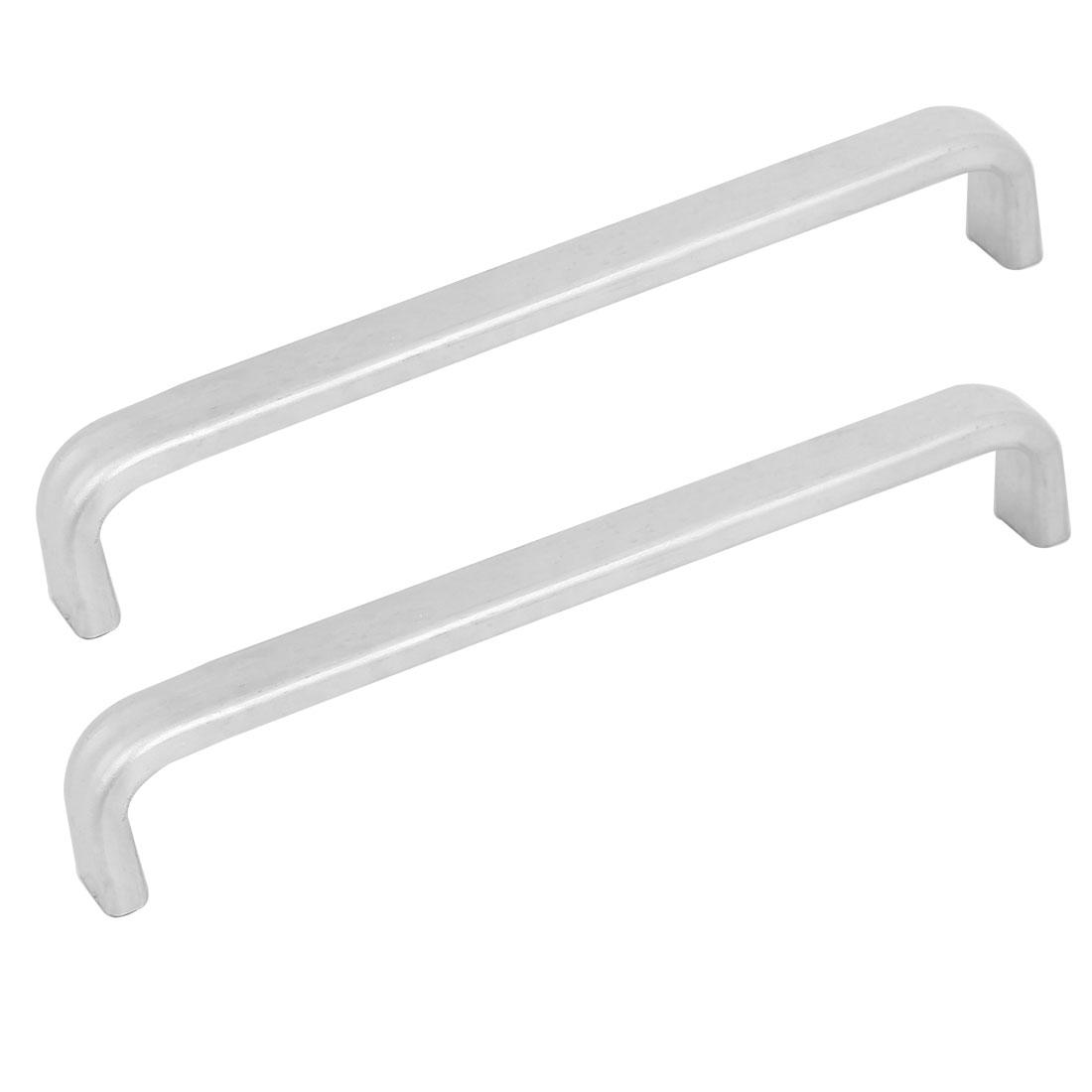 Cupboard Kitchen Aluminum Alloy Pull Handles Handware Tool 2pcs