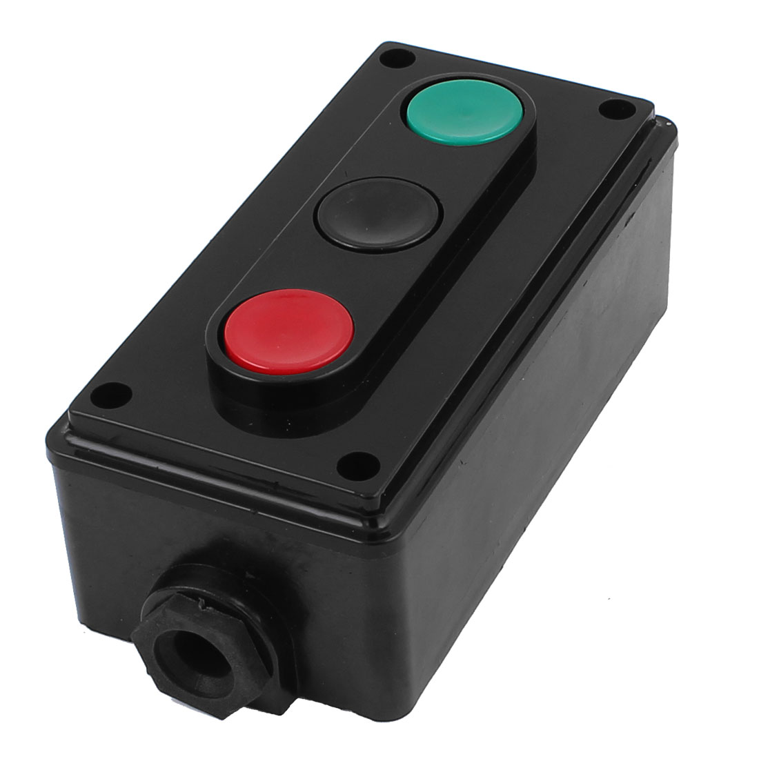 LA4-3H AC 500V 5A Panel Mounted Momentary Push Button Switch