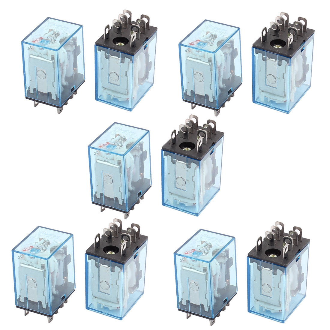 JQX-13FL AC 220/240V Coil DPDT 8-Pin Power Electromagnetic Relay 10PCS