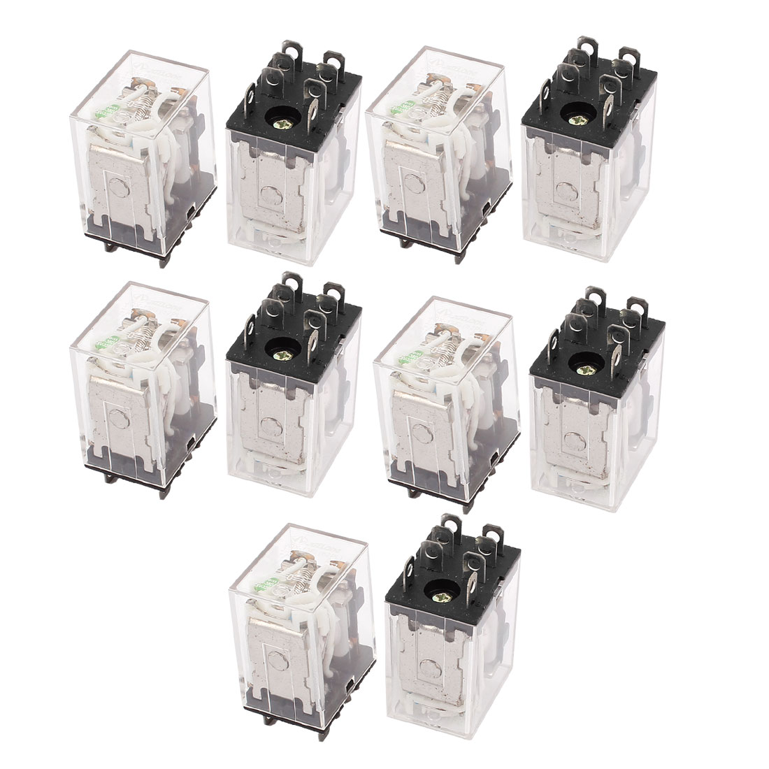 JQX-13FL DC 24V Coil DPDT 8-Pin Power Electromagnetic Relay 10PCS