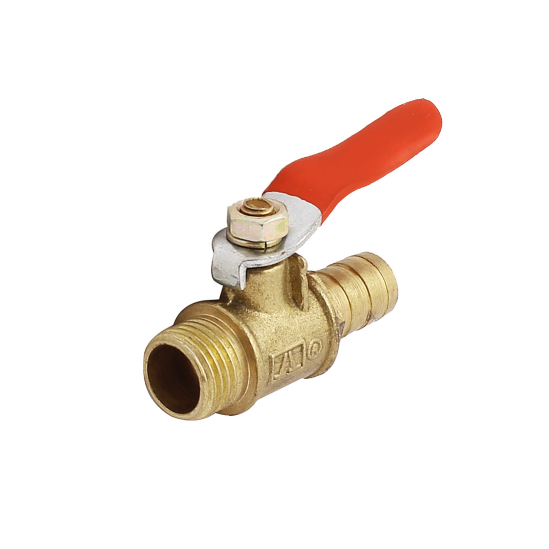 10mm Dia Outlet to 1/4PT Air Pneumatic Gas Flow Control Ball Valve