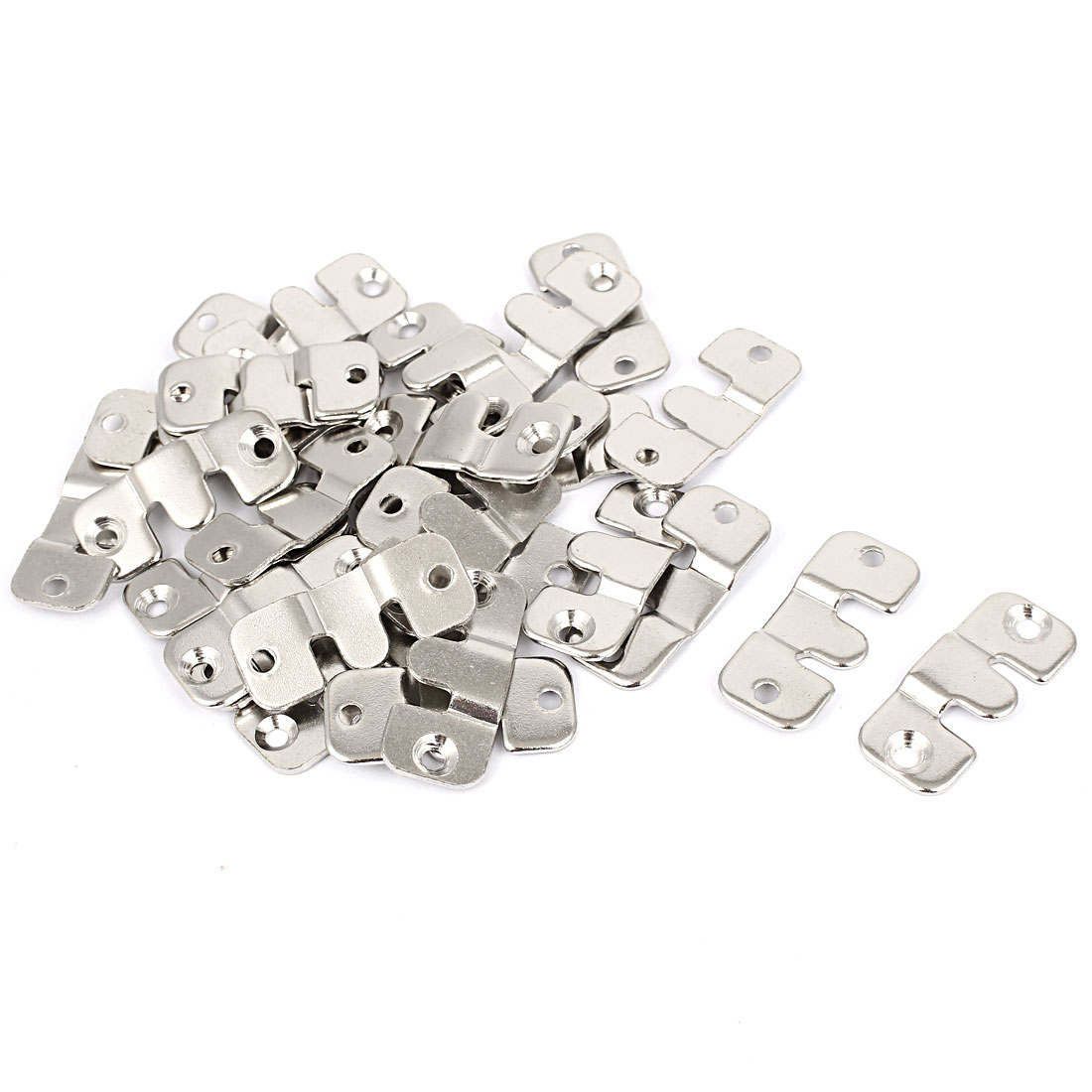 Sofa Furniture Photo Frame Metal Interlocking Connector 44mm Length 30pcs