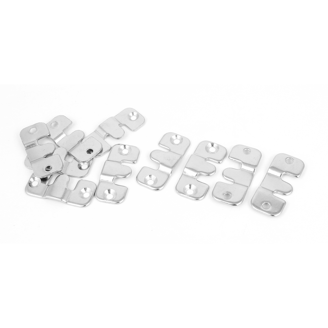 Furniture Sofa Photo Frame Metal Interlock Bracket Connector Hook 10pcs