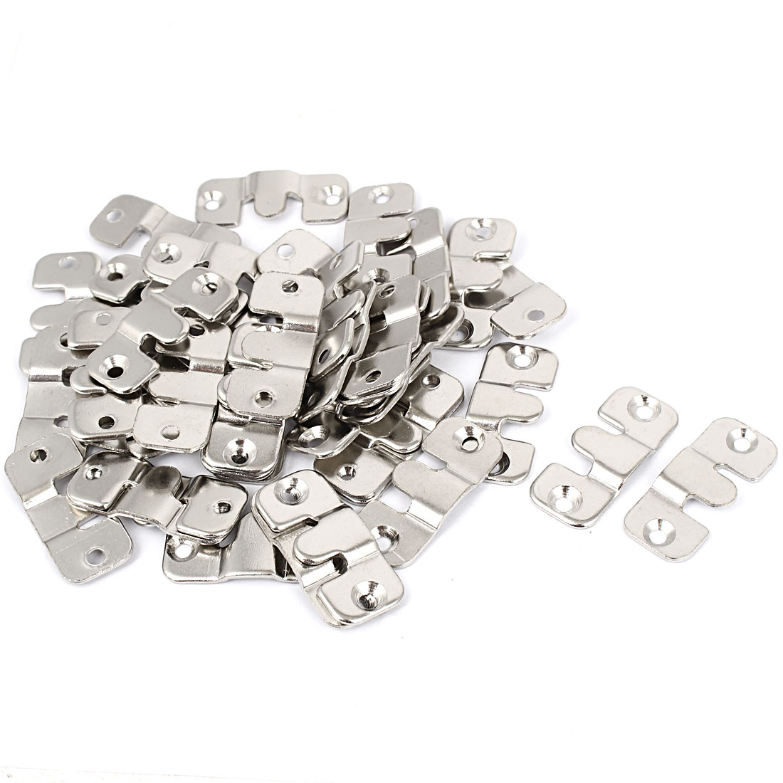Furniture Metal Sectional Photo Frame Couch Sofa Connector Bracket 40pcs