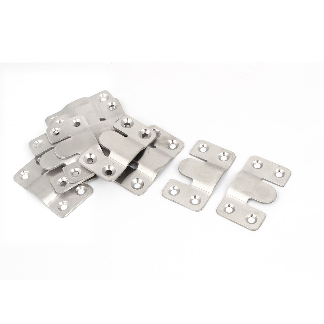 Sofa Furniture Photo Frame Interlock Bracket Hook Connector 53x30mm 12pcs