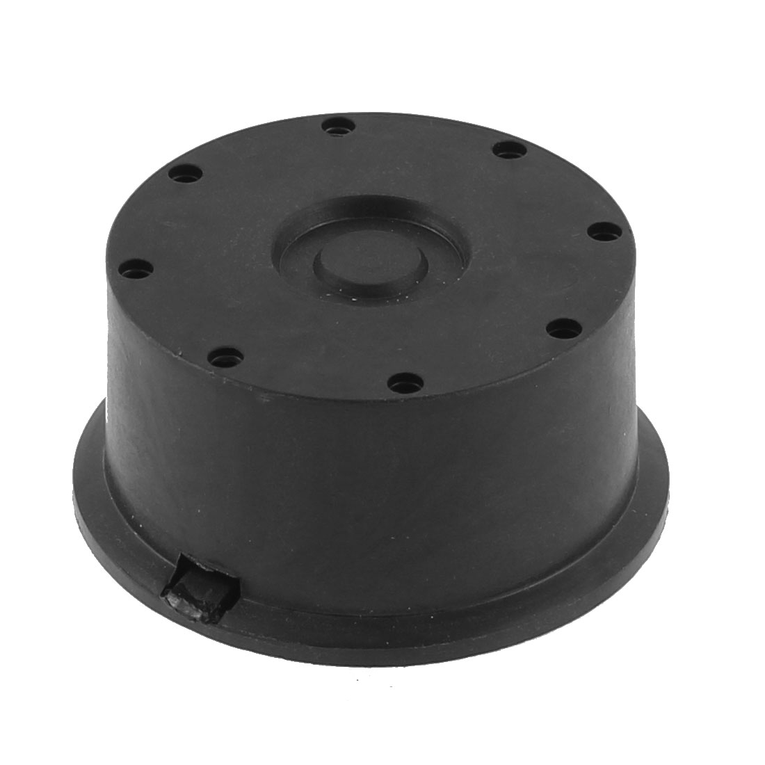 20mm Thread Diameter Black Plastic Admitting Port Air Compressor Intake Filter Silencer Muffler