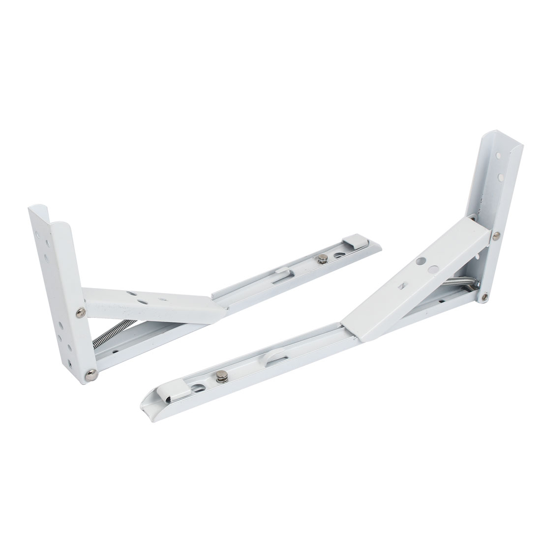"2pcs 90 Degree Projector Wall Mount Folding Support Shelf Bracket 12"" x 5"""