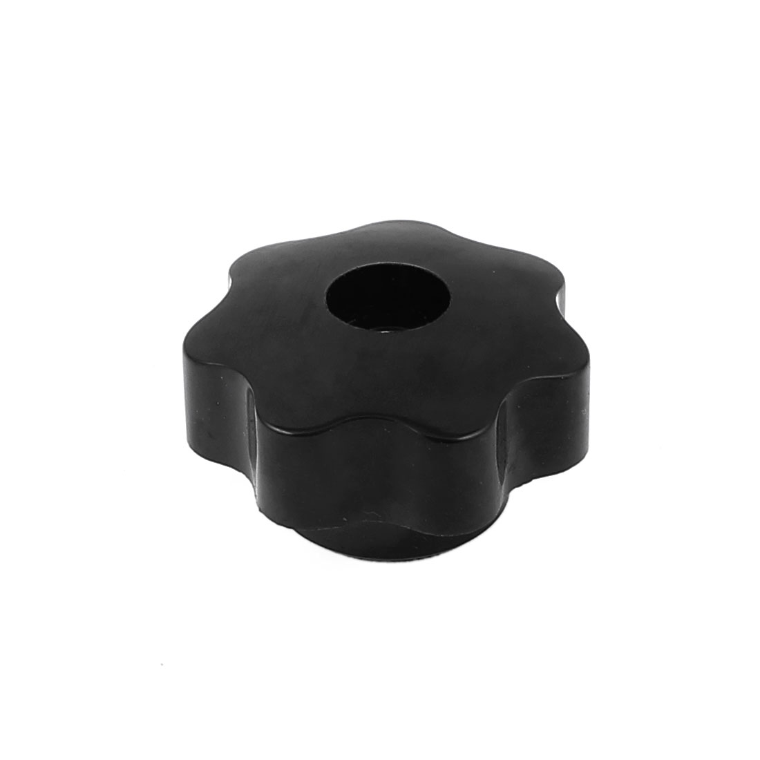 39mm Dia 5mm Threaded Plastic Screw On Type Star Shaped Head Clamping Knob Grip Handle