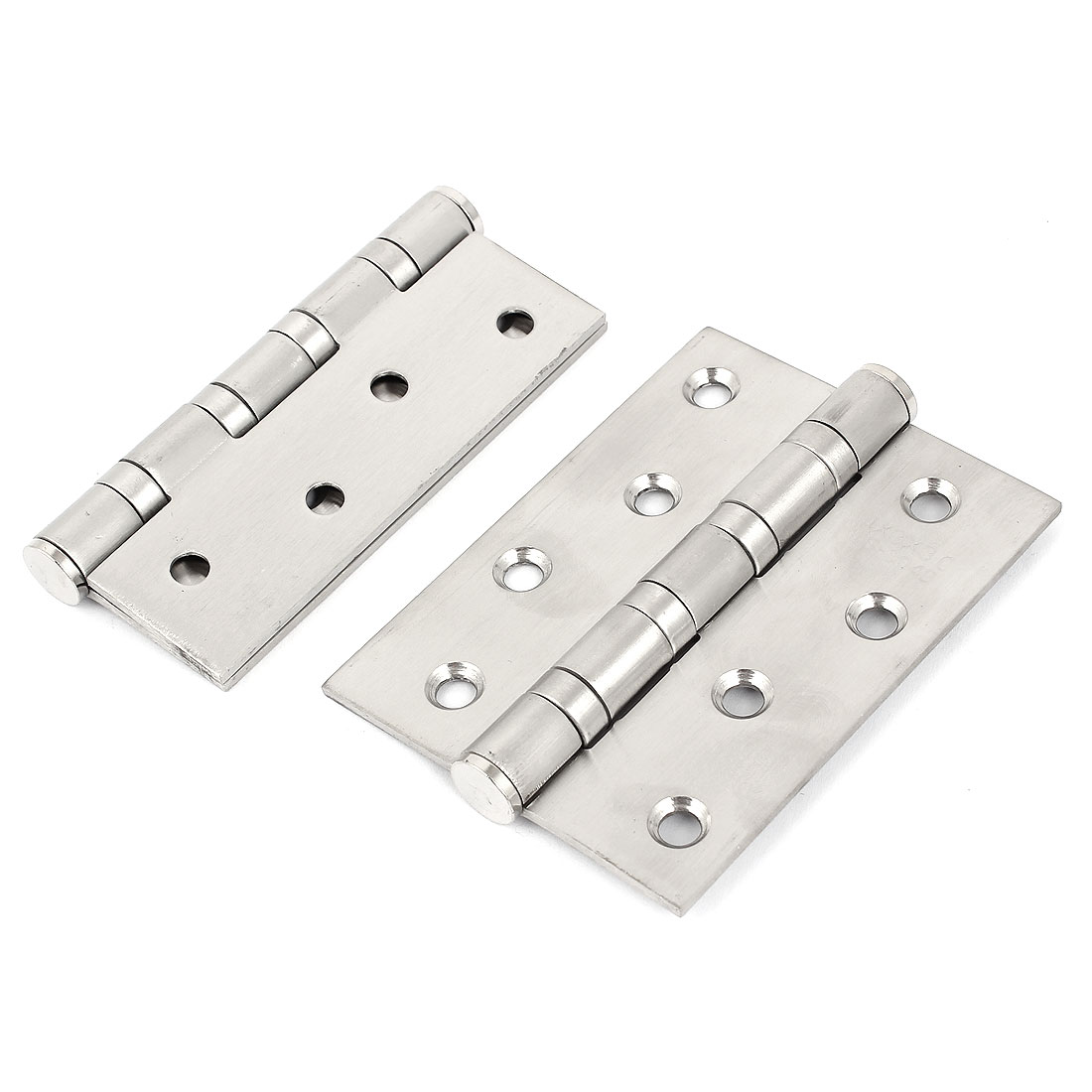 "4"" Long 3"" Width 3mm Thickness Stainless Steel Cabinet Door Butt Hinge 2pcs"
